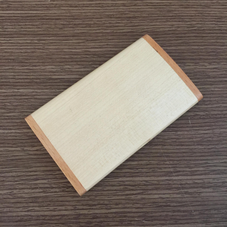 Hộp đựng name card bằng gỗ NC09 mặt ngoài
