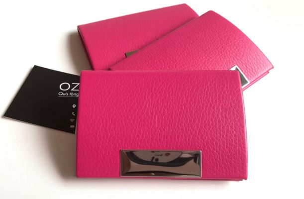Hộp đựng card visit NC01H hồng dễ thương