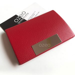 Hộp đựng card visit màu đỏ đam mê