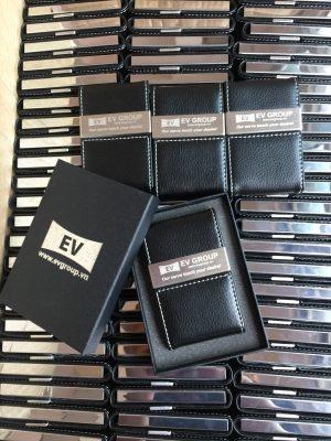 Ví đựng name card NC07 khắc logo EV Group